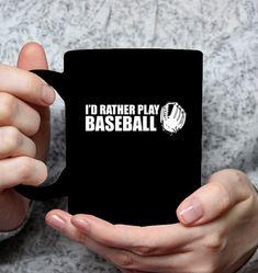 Rather Play Baseball Apparel Baseball Tees, Play, Baseball T Shirts, Baseball Shirts