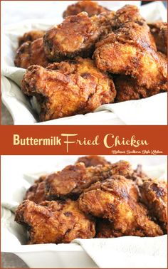 ... | Fried chicken, Fried chicken recipes and Buttermilk fried chicken