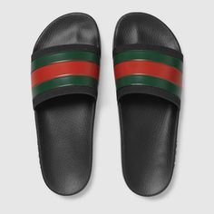 Gucci Rubber slide sandal Detail 3