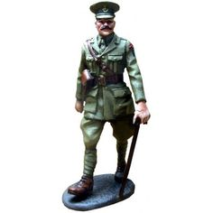 GW 020 Second Scots Guards officer Metal Toys, Toy Soldiers, War, Templates