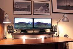 """More """"floating"""" desk-above-a-desk ideas"""