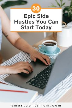 Here are 30 side hustle ideas that you can do to make money at home, including side jobs that you can do to work as an employee and side hustle businesses you can start. Earn Extra Income, Earn Extra Cash, Extra Money, Earn Money From Home, Way To Make Money, Online Side Jobs, Starting Your Own Business, Financial Goals, Hustle