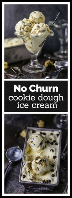 Chocolate Chip Cookie Dough No-Churn Ice Cream Ice cream is a must have summer dessert! How about Chocolate Chip Cookie Dough *No Churn* Ice Cream? This is a simple recipe that kids and adults will love, and it's easy to make because.no churn! Cookie Dough Ice Cream Recipe, Brownie Ice Cream, Chocolate Ice Cream, Chocolate Chip Cookie Dough, Chocolate Pastry, Ice Cream Desserts, Frozen Desserts, Summer Desserts, Ice Cream Recipes