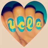 Image result for ucla nail art