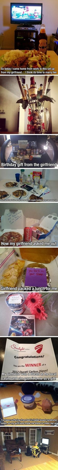 Markings Of An Awesome Girlfriend