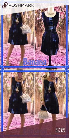 💎Banana💎 Just fab dress after another here!, this electric blue mini is sassy. I love a dress with pockets so New York!, this flare will have you ready to roll anywhere anytime!. Loooooovely! Banana Republic Dresses Mini
