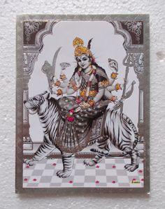 Durga Kali, Durga Goddess, Prints, Silver, Poster, Painting, Ebay, Collection, Art