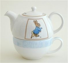James Sadler Peter Rabbit Tea for One