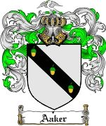 Aaker Coat of Arms