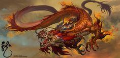 Chinese Dragon Design, Dongjun Lu