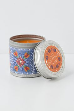 Chalet Candle Tin - Anthropologie.com