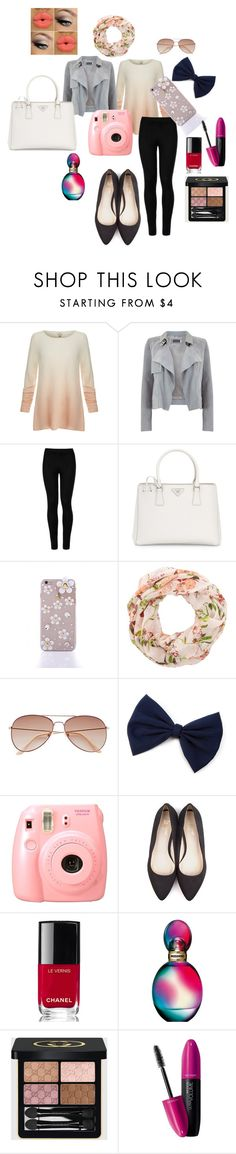 """""""SUMMER DAYS SUMMER NIGHTS"""" by maryanderson242 ❤ liked on Polyvore featuring beauty, Joie, Mint Velvet, Wolford, Prada, New Look, H&M, Beyond Skin, Chanel and Missoni"""