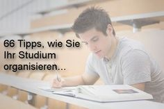 Organisation: 66 Tipps für besseres Studieren