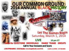 Let the Games Begin March 1, 2014   LIVE