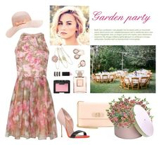 """Garden party"" by iojeni ❤ liked on Polyvore featuring Kurt Geiger, Forever New, Salvatore Ferragamo, Topshop, Matthew Williamson, Chanel and NARS Cosmetics"
