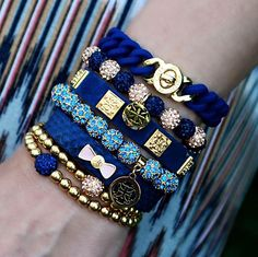 Navy & Gold #Madison #Kaleidoscope #Meagen #Kennedy #Python #Ireland