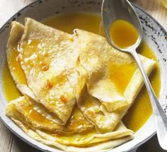 Crepe Suzette: This classic French recipe is a fine way to elevate the humble pancake into a smart pudding Pancake Fillings, Classic Pancake Recipe, Crepe Suzette, Bbc Good Food Show, Waffle Recipes, Pancake Recipes, Crepe Recipes, Breakfast Recipes, Pancake Day