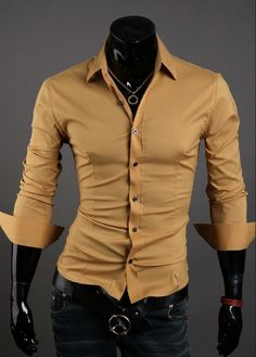 Many men will surely appreciate this new collection of luxury formal shirts for men. It comes in 10 different colors and available in 4 sizes. Everyone can now wear his favorite color with this shirt