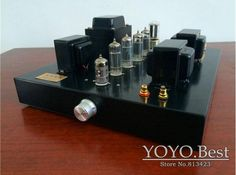 216.20$  Buy here - http://ali1ru.worldwells.pw/go.php?t=32674153377 - Douk Audio 6P1 Class A Push-pull Tube Amplifier HiFi Stereo VAcuum & Valve Amp Finished Product 110~240V