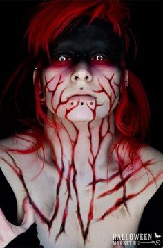 #devil #makeup #halloweenmarket #halloween  #дьяволица #макияж Макияж дьяволицы на хэллоуин (фото)