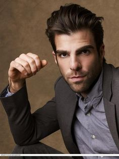 So he's kind of my favorite person ever. Live long and prosper, Zachary Quinto <3