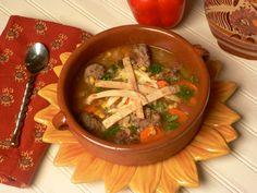 Tortilla Meatball Soup | Lake Lure Cottage Kitchen