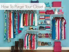 yes and yes: How To Purge Your Closet