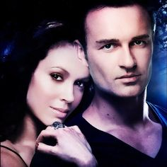Alyssa Milano & Julian McMahon Not gonna lie, they are adorable!! Definitely my favorite!