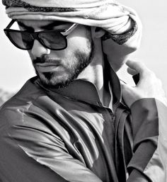 Omar Borkan Al Gala TOTAL CGI!!! ♥♥♥ (Supposedly deported from Saudi Arabia for being too handsome in April 2013, however, he revealed that the story was false months later)