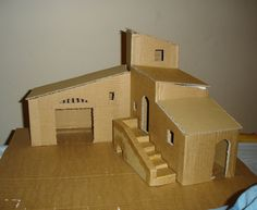 Awesome Plan Maison Creche Provencale that you must know, You?re in good company if you?re looking for Plan Maison Creche Provencale Popsicle Stick Houses, Popsicle Stick Crafts, Craft Stick Crafts, Christmas Villages, Christmas Nativity, Christmas Crafts, Christmas Houses, Clay Houses, Paper Houses