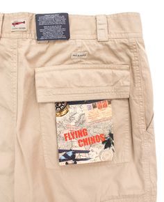 Let your outfit soar! In these PAUL & SHARK Yachting Beige Cotton Flying Chinos Cargo Pants!  |  Go Shopping! http://www.frieschskys.com/bottoms/pants  |  #frieschskys #mensfashion #fashion #mensstyle #style #moda #menswear #dapper #stylish #MadeInItaly #Italy #couture #highfashion #designer #shopping
