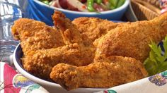 """From Betty's Soul Food Collection...    Mmm! No-muss, no-fuss, delicious chicken that's """"fried"""" in your oven."""