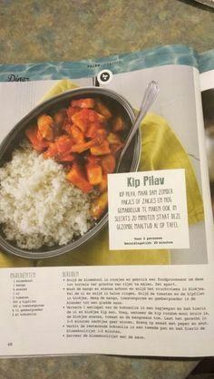 Kip pilav met bloemkool couscous ipv rijst Avondeten of lunch