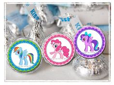My Little Pony Hershey Kisses Labels - My Little Pony Party Instant Download on Etsy, $3.33 CAD