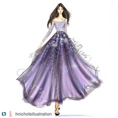 "612 Likes, 1 Comments - Gidget Bowden (@gjb215) on Instagram: ""#Repost @hnicholsillustration with @repostapp. #fashionsketch #fashionillustration…"""