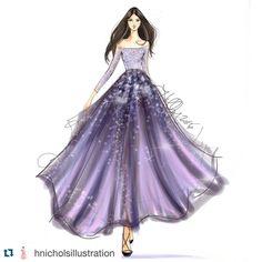 "612 Likes, 1 Comments - Gidget Bowden (@gjb215) on Instagram: ""#Repost @hnicholsillustration with @repostapp. #fashionsketch #fashionillustration…"""