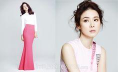 [하퍼스 바자 3월] 이보영 Korean Actresses, Actors & Actresses, Lee Bo Young, Asian, Stars, Sterne, Korean Actors, Star