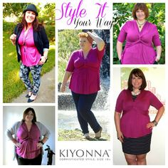 9.13.2013 ~ OUTFIT POST ~ Style It Your Way - Blogger Edition ~ The Kiyonna Caycee Twist Top (Curvy in Kansas City - A Plus Size Fashion Blog)