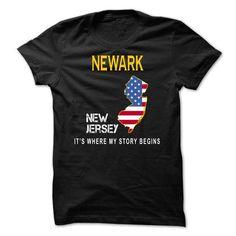 NEWARK It's Where My Story Begins T Shirts, Hoodies. Check price ==► https://www.sunfrog.com/States/NEWARK--Its-Where-My-Story-Begins-ufdjz.html?41382 $19