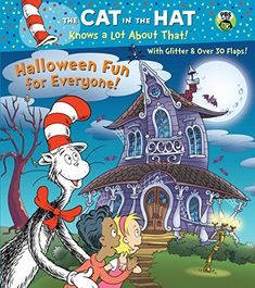 Halloween Fun for Everyone! Seuss/Cat in the Hat) by Tish Rabe Board Book) for sale online The Cat In The Hat Halloween, Link Halloween, Halloween Books, Halloween Night, Spirit Halloween, Baby Halloween, Halloween Themes, Kawaii Halloween, Halloween Adventure
