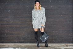 Fashion Trend : sweater weather on Mademoiselle Jules www.mllejules.com photography by Patricia Brochu  http://www.mllejules.com/blog/2015/1/26/sweater-weather Helmut lang sweater chanel purse iro boots