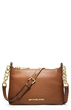 MICHAEL Michael Kors 'Bedford' Leather Crossbody Bag available at #Nordstrom
