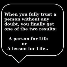 Life lessons  This IS Awesome. So very true.