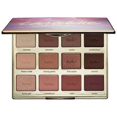 I just bought this beautiful Tartelette In Bloom Clay Eyeshadow Palette - tarte. I can't wait to use it. The colors are gorgeous