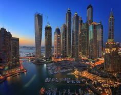 Photo The Marina View by Rustam Azmi Love Photography, Landscape Photography, Amazing Buildings, Dubai Uae, Best Cities, City Lights, Land Scape, New York Skyline, Tourism