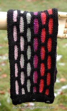 ABC Knitting Patterns - Brick Road Cowl Knitting Patterns, Crochet Patterns, Brick Road, Cowl Scarf, Brick Stitch, Cowls, Free Pattern, Knit Crochet, Scarves