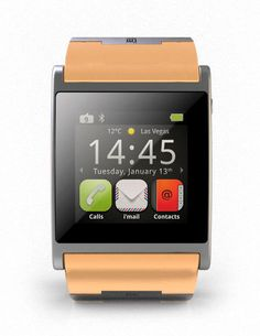 Smart Watch for connecting with your iPhone/Android and other Mobile Devices. Including Social Media, Web, a lot of apps, hands-free-equipment for iPhone and all other smartphones. Listen to music and a lot of more features. Price: from 249,-- up to 1699,--€.