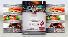 Brochure Design Brochure Design, Coffee, Drinks, Food, Kaffee, Drinking, Flyer Design, Drink, Leaflet Design
