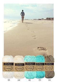 Kleurenpallet Catona - Color Yourlife - Soft Beach HobbyVision- (web)winkel voor scrappen, kaarten en meer!