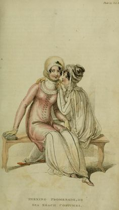 Promenade Dress Plate 4  Series 1  Vol 4 October 1810